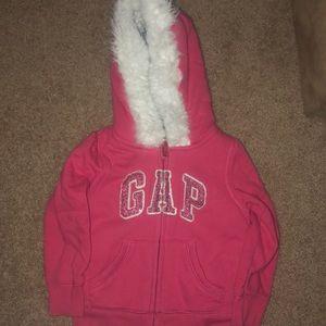 Toddler girl GAP  hoodie